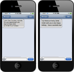 Automated Text Messaging | Practice Web
